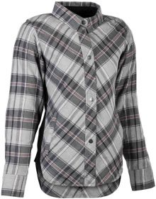 Highway 21 Rogue Flannel Womens Jacket Pink/Grey