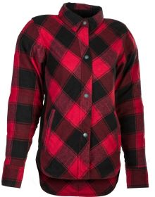 Highway 21 Rogue Flannel Womens Jacket Red/Black