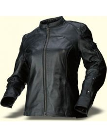 Z1R 243 Leather Jacket Womens Black