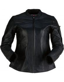 Z1R 35 Special Leather Womens Jacket Black