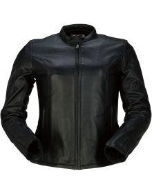Z1R 22 Leather Womens Jacket Black