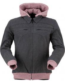 Z1R Imprss Womens Jacket Black/Rose