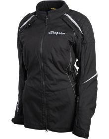 Scorpion Zion Womens Textile Jacket Black