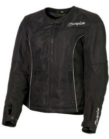 Scorpion Verano Womens Textile Jacket Black