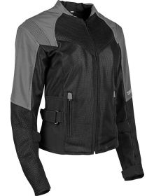 Speed and Strength Sinfully Sweet Womens Mesh Jacket Silver