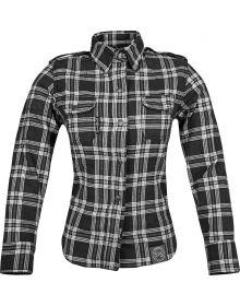 Speed and Strength Smokin Aces Motoshirt Womens Jacket Black