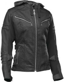 Speed and Strength Street Savvy Leather/Textile Jacket Black
