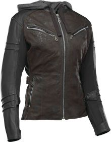 Speed and Strength Street Savvy Leather/Textile Jacket Olive/Black