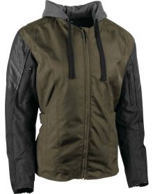 Speed and Strength Double Take 2.0 Womens Jacket Olive/Black