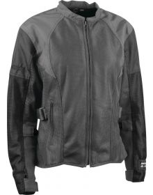 Speed and Strength Radar Love Mesh Womens Jacket Gray/Black