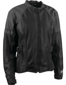 Speed and Strength Radar Love Mesh Womens Jacket Black/Black