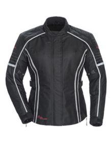 Tourmaster Trinity 3 Womens Jacket Black Plus Sizes