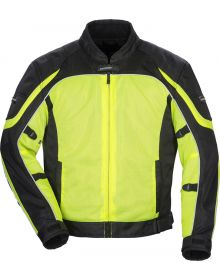 Tourmaster Intake Air 4.0 Womens Jacket Hi Visibility Yellow/Black