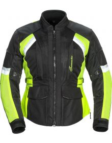Tourmaster Sonora Air 2.0 Womens Jacket Black/Hi-Vis
