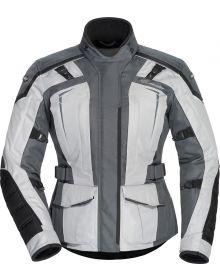 Tourmaster Transition 5 Womens Jacket Light Grey/Gun