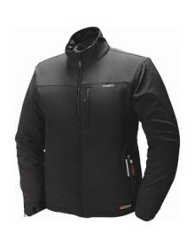 Mobile Warming Battery Heated Womens Jacket Black