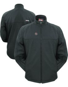 Mobile Warming Dual Power 12V Womens Jacket Black