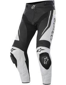 Alpinestars Track Leather Pants Black/White