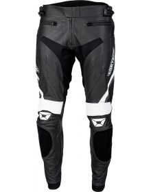 Cortech Apex V3 Leather Pant Black/White