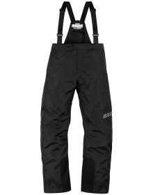 Icon PDX 2 Waterproof Over Pants Black