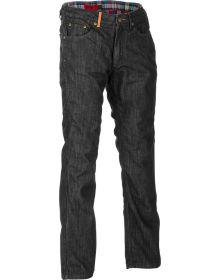 Highway 21 Blockhouse Kevlar Jeans Black