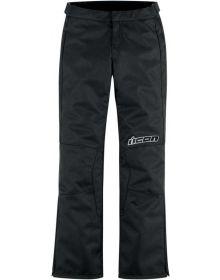 Icon Hella 2 Textile Womens Pants Black