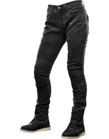 Speed and Strength Street Savvy Womens Denim Jean Pants Black