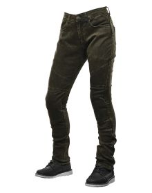 Speed and Strength Street Savvy Womens Denim Jean Pants Olive