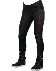 Speed and Strength Cat Outa Hell Womens Yoga Pants Black