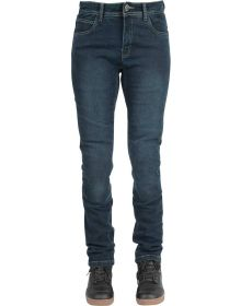Speed and Strength Fast Times Womens Jean Pants Blue
