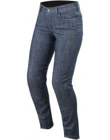 Alpinestars Stella Courtney Womens Denim Pants Washed Blue