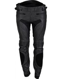 Cortech Apex V1 Womens Leather Pant Black