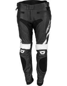 Cortech Apex V1 Womens Leather Pant Black/White