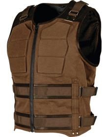 Speed and Strength True Grit Armored Vest Brown