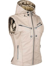 Speed and Strength Hell's Bells Armored Womens Vest Cream
