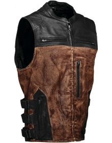 Speed and Strength Tough As Nails Armored Vest Brown