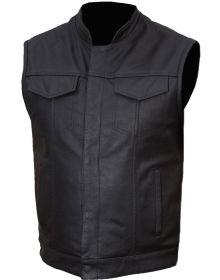 Fulmer 500 Legion Motorcycle Vest Black