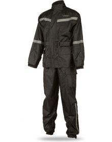 Fly Racing 2-Peice Rain Suit Black