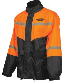 Fly Racing 2-Piece Rainsuit Black/Orange