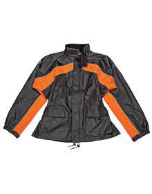 Joe Rocket RS-2 Rainsuit Black/Orange