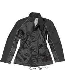 Joe Rocket RS-2 Womens Rainsuit Black/Black