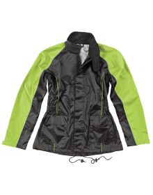 Joe Rocket RS-2 Womens Rainsuit Hi-Viz Neon