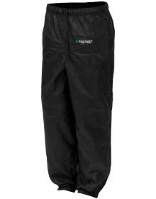Frogg Toggs Pro Action Womens Rain Pants Black