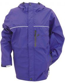 Frogg Toggs Womens Java Toadz Rain Jacket Purple