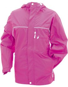 Frogg Toggs Womens Java Toadz Rain Jacket Pink