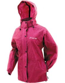 Frogg Toggs Womens Pro Action Rain Jacket Cherry
