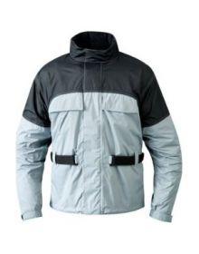 Mossi RX1 Rain Jacket Black/Silver