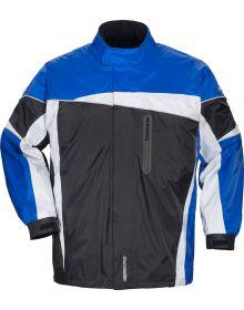 Tourmaster Defender 2.0 Two Piece Rainsuit Black/Blue