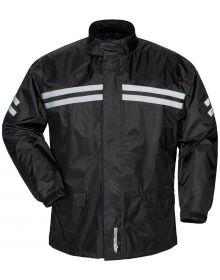 Tourmaster Shield Two Piece Rainsuit Black