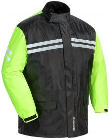 Tourmaster Shield Two Piece Rainsuit Black/Hi Viz